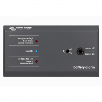 Victron battery alarm ALV