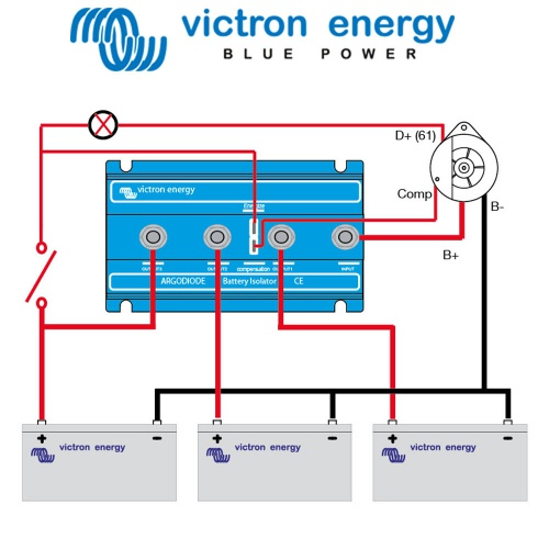 4 Pin To 6 Pin Trailer Wiring together with Hengs Rv Range Hood 12 Volt further Bms1215s2 24v Setup additionally Coachmen Rv Wiring Diagram likewise Victron Argo Diode Laadstroomverdeler 80 2ac. on 12 volt camper wiring diagram