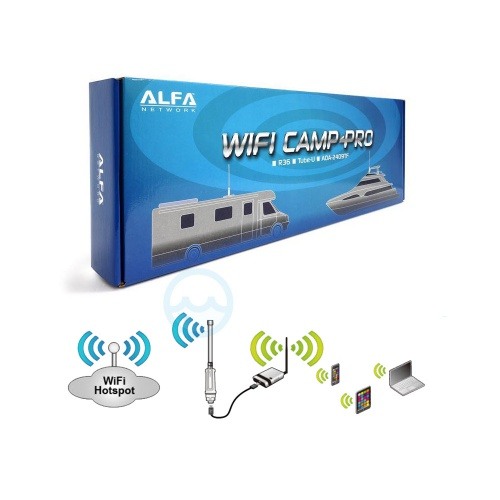 wifi camp pro wifi range extender voor boot camper en. Black Bedroom Furniture Sets. Home Design Ideas