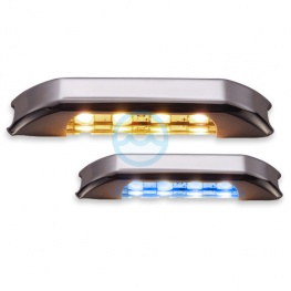 LED courtesylight Mizar II 4LED blauw wit