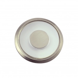 Inbouw Plafonniere LED 61mm kajuitlamp, warmwit, 10-15 volt