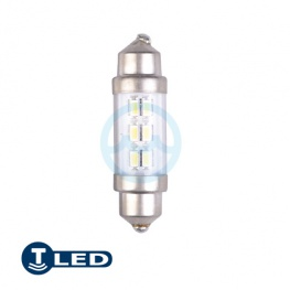 LED 12V Buis 3xSMD (10.2x37mm)