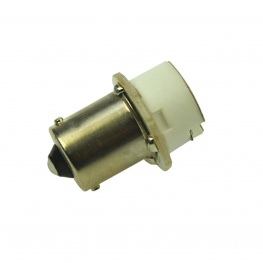 Adapter BA15s bajonet fitting naar G4 voor LED en halogeen