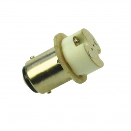 Adapter BA15d bajonet fitting naar G4 voor LED en halogeen