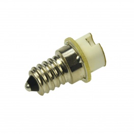 Adapter E14 schroef fitting naar G4 steekfitting voor LED en halogeen