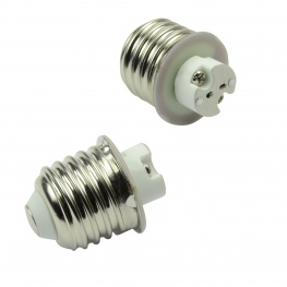 Adapter E27 fitting naar G4 voor LED en halogeen