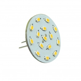 G4 achter-insteek LED, warmwit en dimbaar, 10-30volt, Ø23,6mm