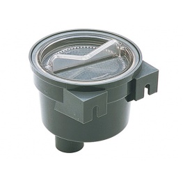 Wierpot met RVS filter, aanlsuiting 32mm