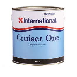 International Cruiser One antifouling - Zelfslijpende koperhoudende antifouling