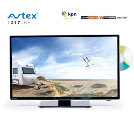 Avtex L218 DRS 12-24 Volt LED TV voor Camper, Caravan en Boot