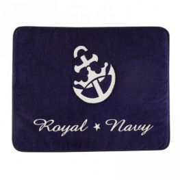 Badmat anti-slip 'royal anker' 50x40 cm