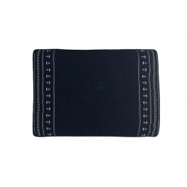 Badmat anti-slip 'santorini anchor' navy 60x45cm