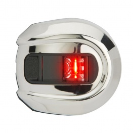 Bakboorlicht LED Light Armor Rond RVS 12 volt