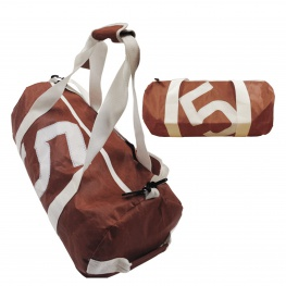 Bainbridge Zeildoek tas, bruin in small, medium en large