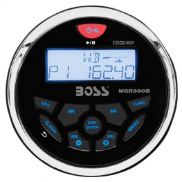 Boss Marine Radio 1308 UAB Wit - Bluetooth