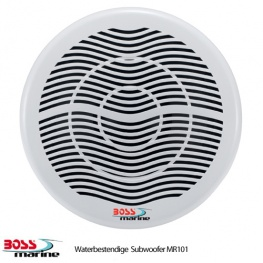 Boss Marine MR101, Waterbestendige subwoofer 600 Watt bij 4 Ohm