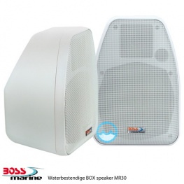 Aanbieding Boss Marine Waterbestendige BOX Speakers MR 30