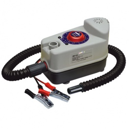 Bravo Luchtpomp BP 12. Max.1Bar 14,5 Psi elektrische luchtpomp voor rubberboot, kite en SUP