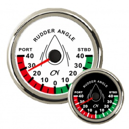 CN Roerstandmeter met Chromen ring Wit of Zwart 85mm