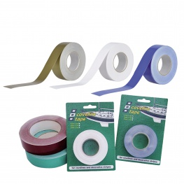 Coveline waterlijn tape, 15 - 19 - 25mm breed, div. kleuren