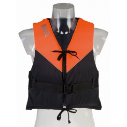 Besto Dinghy 50N, Zwart/Oranje, Nautic Gear