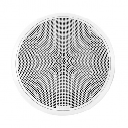 Fusion Subwoofer Flush Mount 10 inch 400 Watt Wit voor