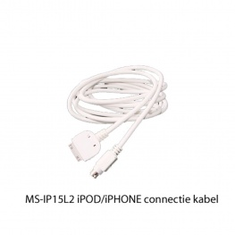 Fusion Marine iPOD iPHONE aansluitkabel MS-IP15L2