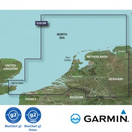 Garmin BlueChart in G2 of G2 Vision HD uitvoering EU018R (regular)