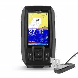 Garmin Striker PLUS 4cv CHIRP Fishfinder met transducer en GPS