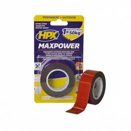 HPX Max Power dubbelzijdig ouddoor tape 25 mm x 1,5 meter