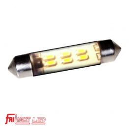 LED Buislamp3x SMD LED warmwit, waterbestendig