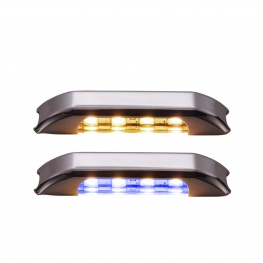 LED courtesylight Mizar II 4LED blauw wit inbouwspot