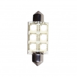 LED Buislamp met 6x SMD LED 10 Watt (17x42mm)