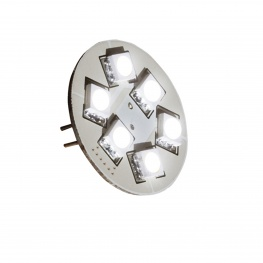 Losse LED G4 6x SMD met achterj-insteek 8-30 volt 1,3 Watt (8 watt halogeen)