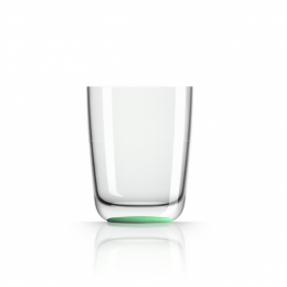 Onbreekbaar Waterglas groen/glow in the dark - Marc Newson