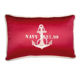 "Bootkussens type ""anchor"" Kleur: Red. Nautic Gear, De Watersportwinkel"