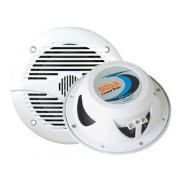 Waterbestendige speakers 150 Watt Boss Marine kleur: wit