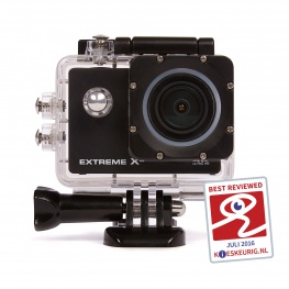 Nikkei Extreme X6 4K Action Cam met Wifi