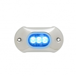 Onderwaterverklichting LED Light Armor Blauw 12 - 24 volt