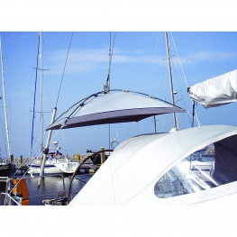 Blue Performance Sunshade, vrij hangende zonnetent