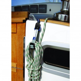 Blue Performance Rope Clips Touwbinder, 2 stuks