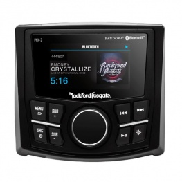 Rockford boot Radio PMX-2 Bluetooth 1-zone voorzijde