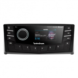 Rockford boot Radio PMX-5CAN Bluetooth 2-zones voorzijde