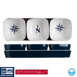 Scheepsservies Northwind tappas / snackset