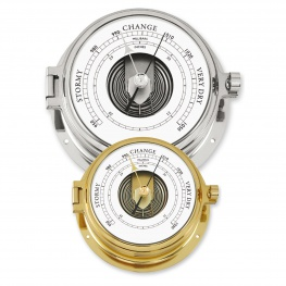 Talamex Barometer Serie 160 Verchroomd of messing