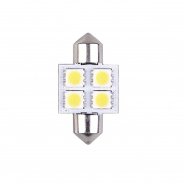 Talamex LED 12V Buis 4xSMD 16x31mm
