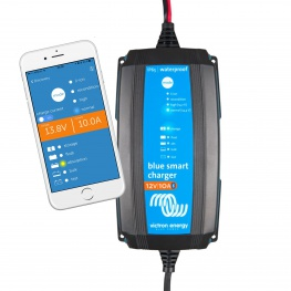 Blue Smart IP65 Acculader 12 volt 10 Ampere
