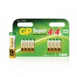 GP Alkaline Batterij AAA 1.5 V Super 8-Promotional Blister
