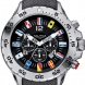 Nautica NST Chrono Flag A24520G watersport horloge - detail