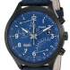 Watersporthorloge Timex IQ Fly-back Chronograph Blauw_detail